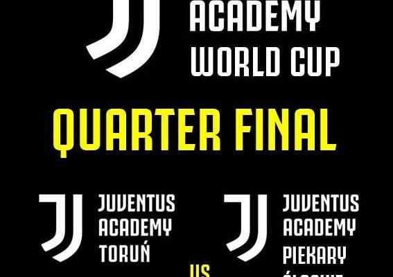 Ćwierćfinał w Mistrzostwach Świata Juventus dla Torunia!