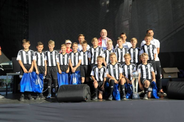 Nagrody od Prezydenta Miasta Torunia dla zawodników Juventus Academy Toruń!