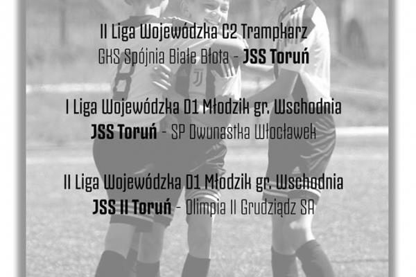 Weekendowy rozkład meczów Juventus Academy Toruń!