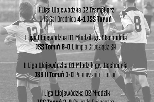 Wyniki meczów z weekendu - 20/21.10.2018r.