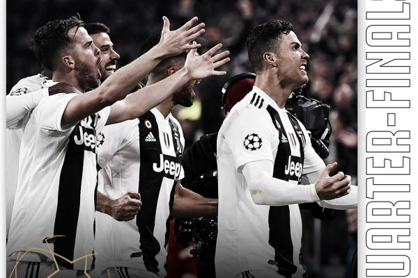 Juventus w ćwierćfinale Ligi Mistrzów!