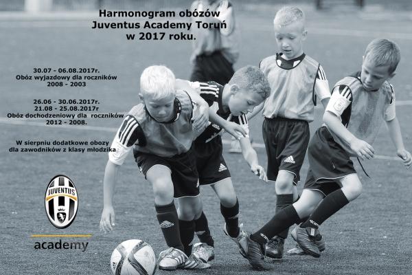 Planuj wakacje z Juventus Academy Toruń!