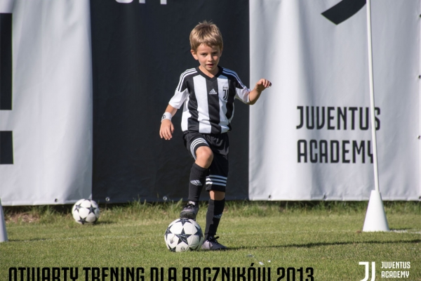 Otwarty trening w Juventus Academy Toruń dla roczników 2013!
