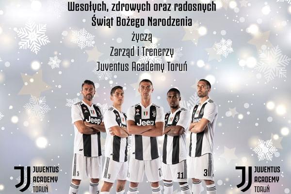 Wesołych Świąt od Juventus Academy Toruń!